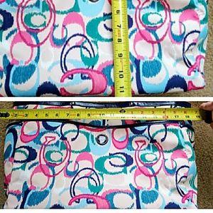 Colorful Coach Diaper Bag